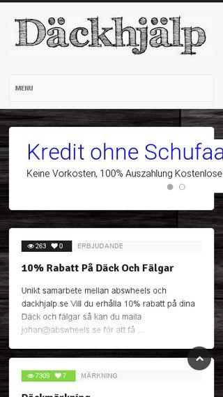 Mobile preview of dackhjalp.se