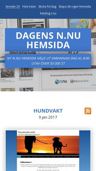 Mobile preview of dagenshemsida.n.nu