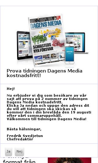 Mobile preview of dagensmedia.se