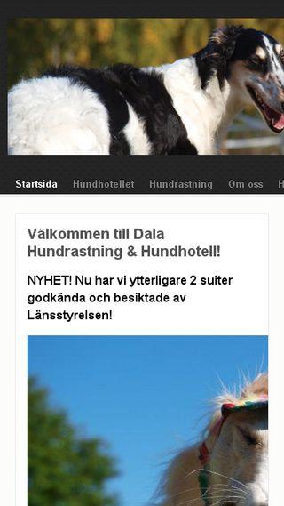 Mobile preview of dalahundrastning.se