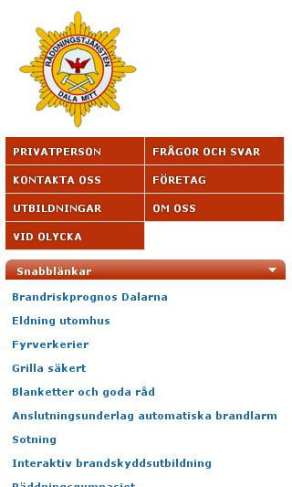 Mobile preview of dalamitt.se