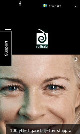 Mobile preview of dalhalla.se