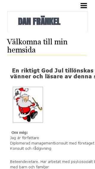 Mobile preview of danfrankel.n.nu