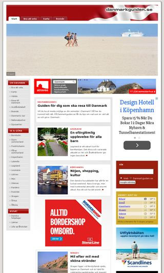 Mobile preview of danmarkguiden.se