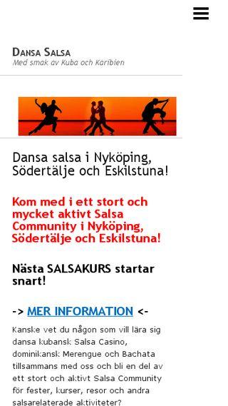 Mobile preview of dansasalsa.n.nu