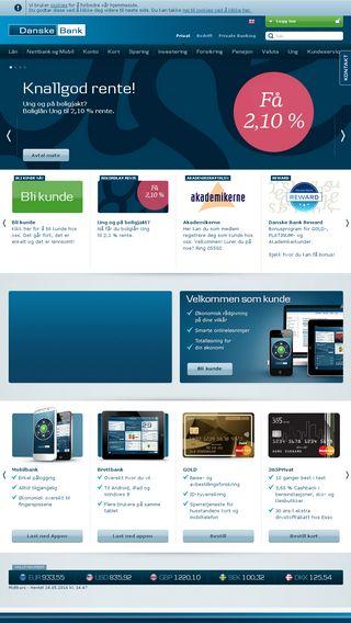 Mobile preview of danskebank.no