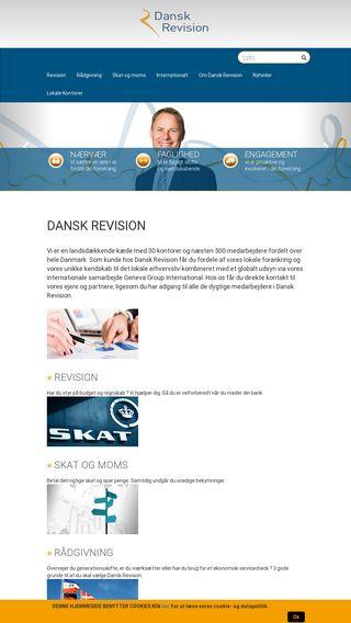 Mobile preview of danskrevision.dk
