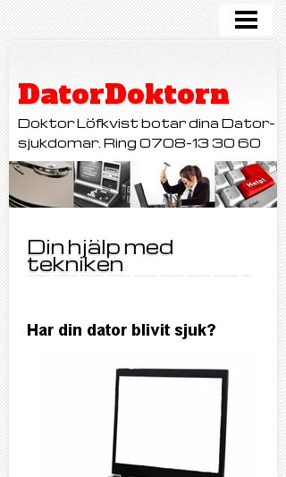 Mobile preview of datordoktor.se