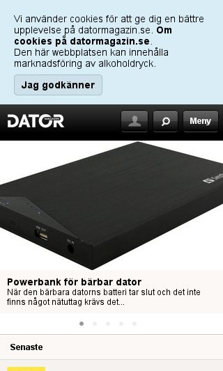 Mobile preview of retrodatorer.se