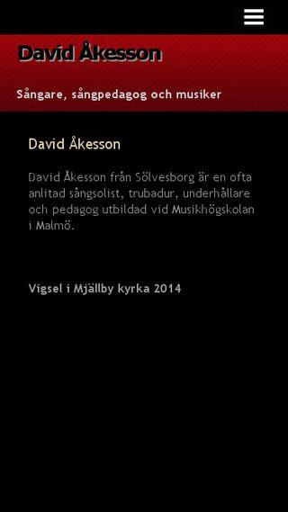 Mobile preview of davidakesson.n.nu