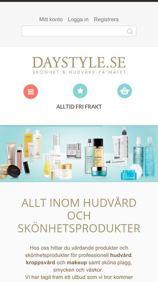 Mobile preview of daystyle.se