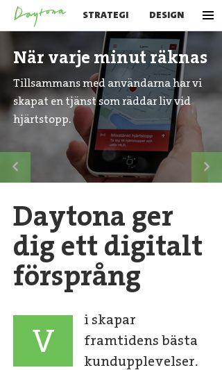 Mobile preview of daytona.se