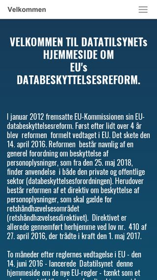Mobile preview of dbreform.dk