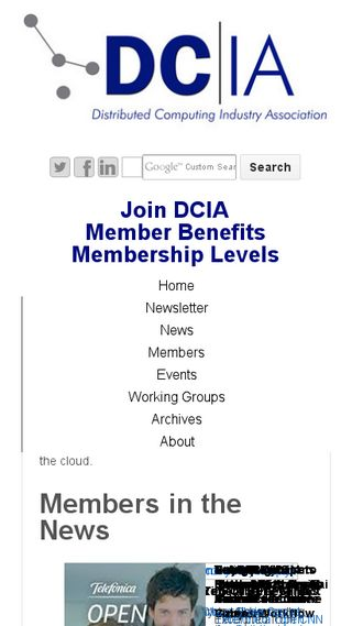 Mobile preview of dcia.info