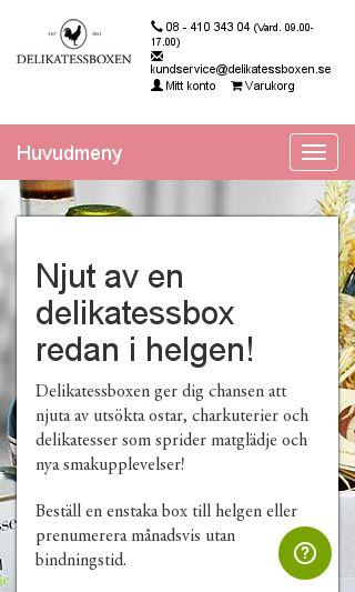 Mobile preview of delikatessboxen.se