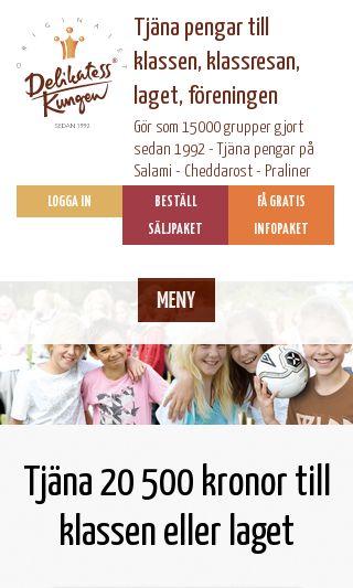 Mobile preview of delikatesskungen.se