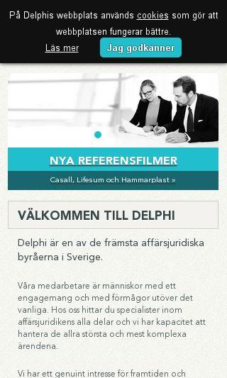 Mobile preview of delphi.se