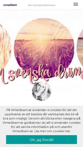Mobile preview of densvenskadrommen.se