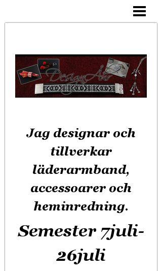 Mobile preview of designahr.se