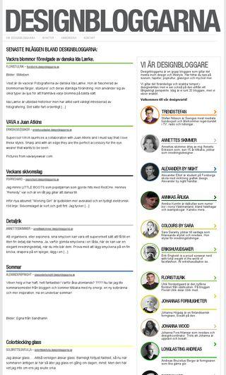Mobile preview of designbloggarna.se