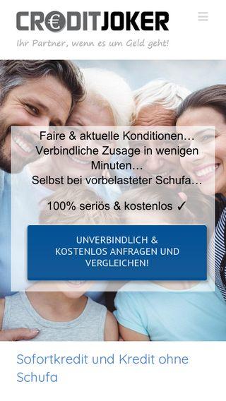 Mobile preview of deutscher-kreditservice.de