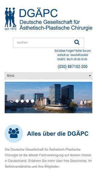 Mobile preview of dgaepc.de