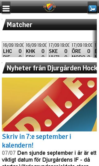 Mobile preview of difhockey.se