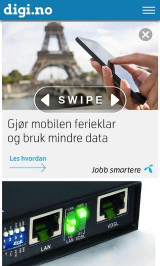 Mobile preview of digi.no