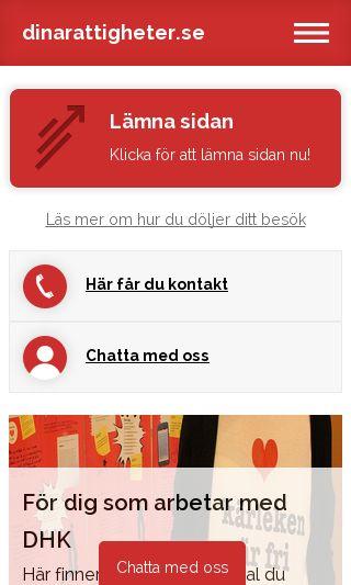 Mobile preview of dinarattigheter.se