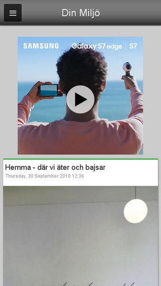Mobile preview of dinmiljo.blogg.se