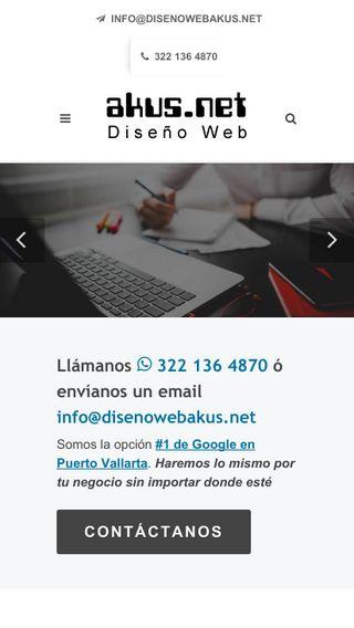 Mobile preview of disenowebakus.net