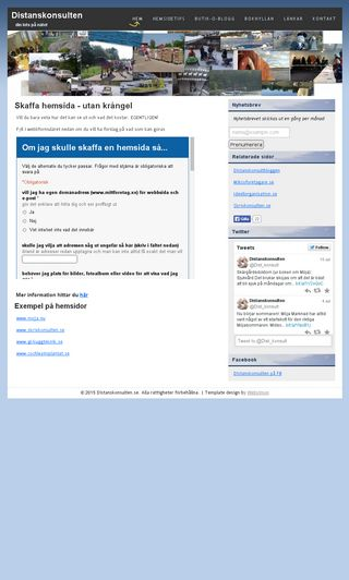 Mobile preview of distanskonsulten.se
