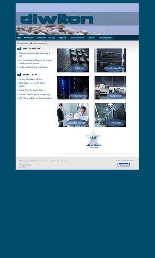 Mobile preview of diwiton.se