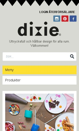 Mobile preview of dixie.se