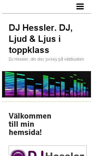 Mobile preview of djhessler.se