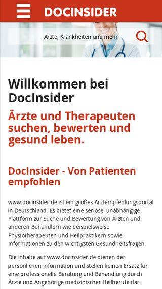 Mobile preview of dorow-clinic.de