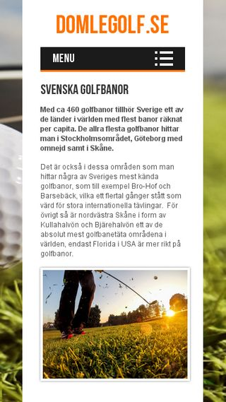 Mobile preview of domlegolf.se