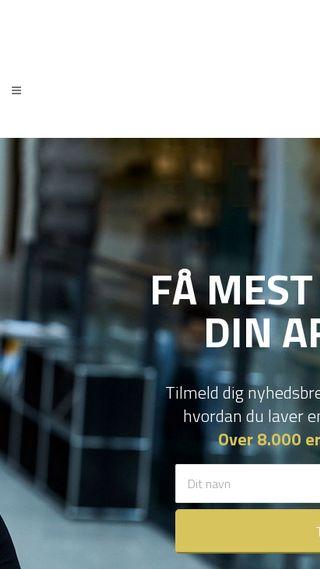 Mobile preview of dortherindbo.dk