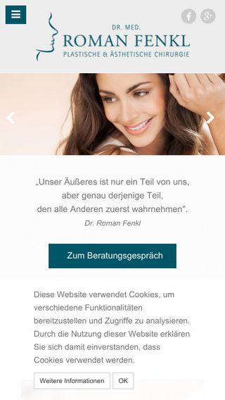 Mobile preview of dr-fenkl.de