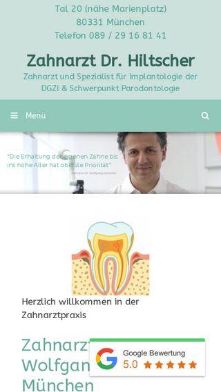 Mobile preview of dr-hiltscher.de