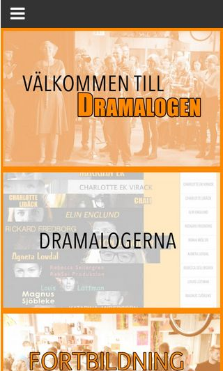 Mobile preview of dramalogen.se