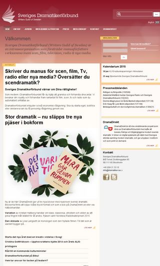 Mobile preview of dramatiker.se