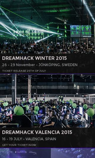 Mobile preview of dreamhack.se