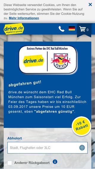 Mobile preview of drive.de