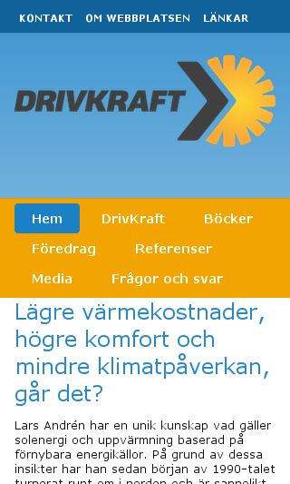 Mobile preview of drivkraft.nu