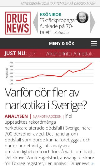Mobile preview of krisvagenut.se
