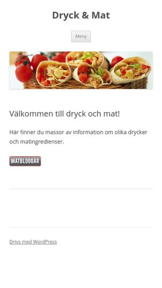 Mobile preview of dryck-mat.se