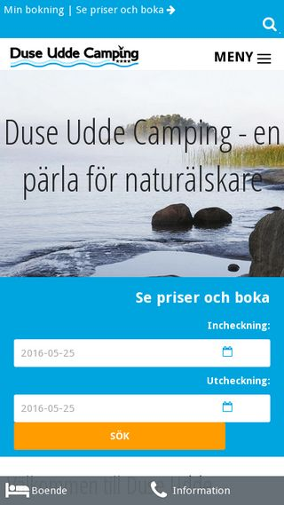Mobile preview of duseuddecamping.se