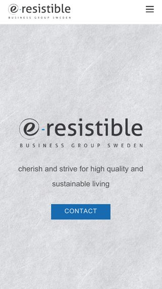 Mobile preview of e-resistible.se