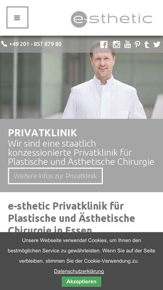 Mobile preview of e-sthetic.de